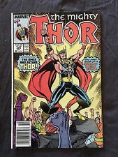 Mighty Thor #384 (Marvel, Oct. 1987) First Thor (Dargo) ~ Newsstand Variant!
