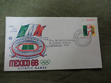 #D286.  1968 MEXICO  OLYMPIC  FIRST DAY COVER