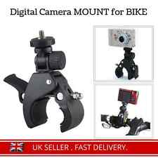Digital Camera Bicycle Bike Motorbike Handle Bar Mount Holder Clamp for DSLR SLR