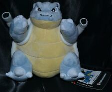 "9"" Blastoise Poke Plush Large Official Pokemon Center Dolls Toys Stuffed Animals"