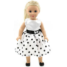 "Fits 18"" American Girl Madame Alexander Handmade Doll Clothes dress MG059"