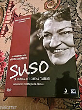 SUSO la signora del cinema Italiano di Luca Zingaretti-DVD NUOVO-Sigillato