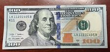 $100 DOLLAR BILL US Paper Money Bill Federal Reserve Cash BANK NOTE One Hundred