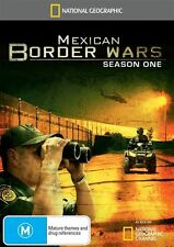 National Geographic - Mexican Border Wars : Season 1 (DVD, 2011, 2-Disc Set) R4