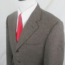 Canali Wool Mohair Cashmere 3 Button 40C 40S Short Italy