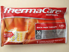 ThermaCare Heat Wraps Lower Back and Hip Size L-XL NEW....Hot Pack