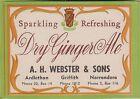 (LOA7) 1950-60 AU Webster's dry ginger Ale