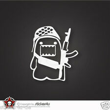 (416) military Domokun Fun  Sticker Aufkleber JDM OEM DUB VAG Stickerbomb