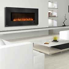 Napoleon EFL48H Flush Mount Electric Fireplace Modern Linear Glass Touch Screen