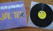"Joe Tex - LP - ""I Believe I'm Gonna Make It - The Best Of"" Rhino - Record is NM"