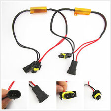 2 x H8 H11 LED Headlight Load Resistor Flicker Decoders Warning Canceler Harness