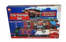 Toy City Garage Set Petrol Station And Car Park