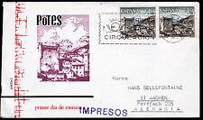 Spanien 1525 FDC, Sehenswürdigkeiten-Potes-Santander