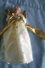 ANGEL CHRISTMAS TREE TOPPER NEW MADE IN CHINA FREE SHIPPING