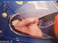 CARTE PHOTO F1 SPA- FRANCORCHAMPS 1990 ALAIN PROST