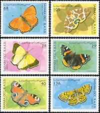 Sahara OCC 1997 Butterflies/Insects/Nature/Conservation/Butterfly 6v set (b5802)