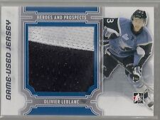 2013-14 ITG Heroes and Prospects Jersey Silver #M15 Olivier Leblanc /30  Patch
