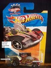 HOT WHEELS 2011 FE #28 -10 BUZZERK RED ERROR W/O ENGINE AM 11 CARD