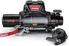 WARN 96800 VR8 8000lb Winch 12V Hawse Fairlead 94' 5/16 Wire Cable Rope