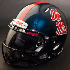 OLE MISS REBELS NCAA Authentic GAMEDAY Football Helmet w/ OAKLEY Eye Shield