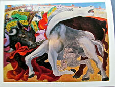 Pablo Picasso Bullfight: Death of a Toreador Poster