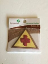 Girl Scout Brownie Iron on First Aid Patch