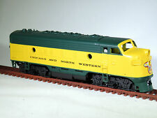 HO Athearn 3031 CHICAGO NORTHWESTERN F7A Diesel Locomotive CNW 4073A Dummy NIOB