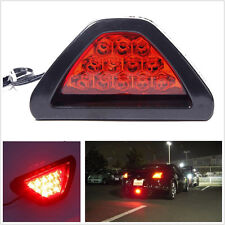 Waterproof Triangle 12V 12LED Red Car Off-Road Low Third Brake Stop Safety Light