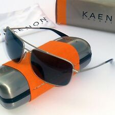 Kaenon Ballister Polarized Sunglasses-Matte Chrome w. Grey SR-91 Lens 310-05-G12