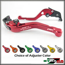 Strada 7 CNC Shorty Adjustable Levers Buell XB12R XB12Ss XB12Scg 2009 Red