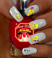Tweety Cartoons Nail Art Stickers with Tweety Transfers Decals CT001-51