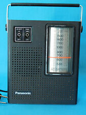 VTG MATSUSHITA NATIONAL PANASONIC TRANSISTOR RADIO R-1493 AM AC/BATTERY WORKS