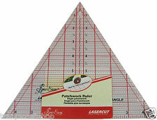 Quilting Ruler 60 Degree Triangle 8 x9.25inches low P+P