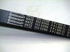 HATZ Keilrippenriem 50203100 für 2L40C/Ch und 2L41C Continental 9PJ920EL neu