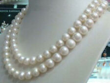 8-9mm Genuine Natural White Akoya Cultured Pearl Jewelry Necklace 50""