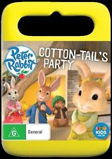Peter Rabbit: Cotton-tail's Party NEW R4 DVD