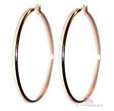 "Love Beauty for Ashes Rose Gold Rosegold Plated 2"" Hoop Inspiration Earrings"