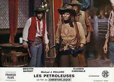 SEXY CLAUDIA CARDINALE LES  PETROLEUSES  1971 VINTAGE LOBBY CARD #14