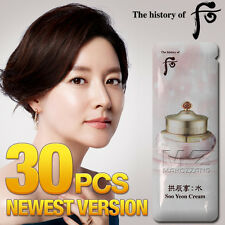 The history of whoo Soo Yeon Cream 30pcs Moisturizers Anti-Aging Newest + Gift