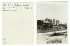 photo snapshot 1930 gratte ciel New York / Medical center st Riverside drive NY
