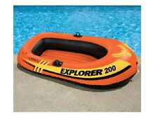 INTEX EXPLORER 200 INFLATABLE BOAT SWIMMING POOL LAKE NEW IN BOX!