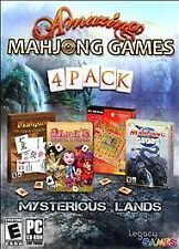 Amazing Mahjong Games (4 Pack) Legacy Interactive Inc CD-ROM