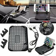 Non-Slip Car Holder Dashboard Stand USB Mount Charger For GPS Pad Mobile Phone