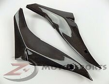 2008 2009 2010 ZX-10R ZX10R Gas Tank Side Trim Cover Fairing 100% Carbon Fiber