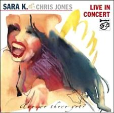 "* STOCKFISCH - SFR357.6030.2 - SARA K. & CHRIS JONES - ""LIVE IN CONCERT"" - CD *"