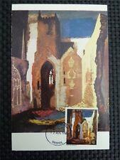 GB UK MK 1968 painting Dipinto maximum carta carte MAXIMUM CARD MC cm c1740