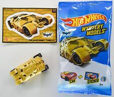 "2017 Hot Wheels Mystery Models: #03 BATMAN ""Gold Tumbler"" BATMOBILE Walmart Hunt"
