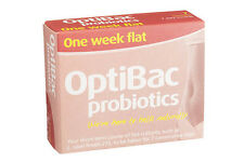 OptiBac Probiotics One Week ( for a flat stomach ) 7 Satchets