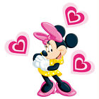 Minnie Mouse Love Heart Set Wall Sticker Decal - Totally Movable and Reusable