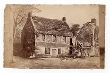 Rare Old Photo Of Fair Maid's House Perth Used By James Bell Cabinet Makers